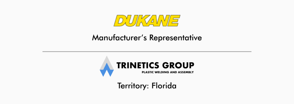 dukane manufacturers representative trinetics group florida